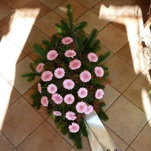 Bukett Gerbera rosa