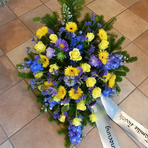 Bukett gelb-blau