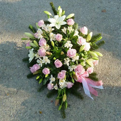 Bukett rosa weiß